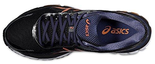 Noir 2 Deep Gymnastique Pour Asics Choquant Gel Cobalt Orange Hommes De Chaussures glorify 8XqWff