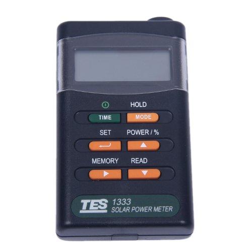 Solar Radiation Sensors (Signstek Handheld Portable Solar Power Irradiance Meter---Solar Power Radiation Meter---Sun Irradiance Tester)