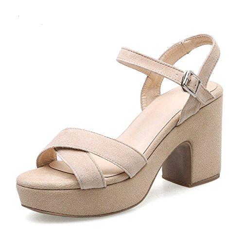 Con B Corbata De Mujer Y Verano Zapatos Marrón Claro Sandalias Xzgc TWRUfU