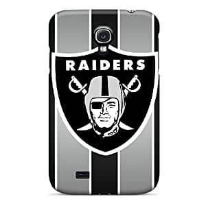 Unique Design Galaxy S4 Durable Tpu Case Cover Oakland Raiders
