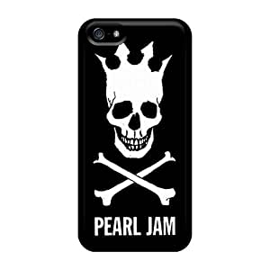 MansourMurray Iphone 5/5s Best Hard Phone Cases Unique Design Attractive Pearl Jam Pictures [txm1170ZvPf]