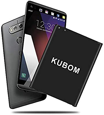 Batería LG V20, KUBOM Full 3200 mAh (BL-44E1F) batería con cable ...