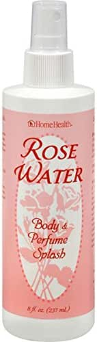 Home Health Flower Water Rose Body Mist - 6 fl oz - Hydrates Skin After Bath, Aromatherapy Water, Natural Perfume Alternative - Non-GMO, Paraben-Free, Natural Fragrance, Vegan