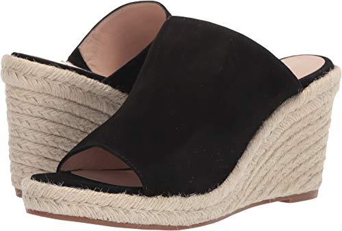 Stuart Weitzman Women's MARABELLA Sandal, Black Suede, 7.5 Medium ()