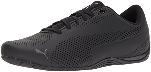 (PUMA Men's Drift CAT Ultra Sneaker, Black, 10.5 M US)