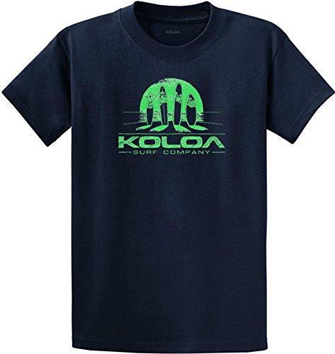 Sunset Green T-shirt (Koloa Surf(tm) Surfboards at Sunset)