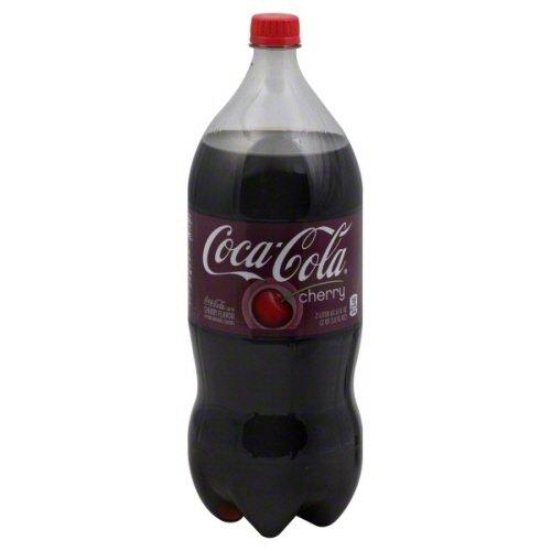 Coca-Cola Zero Cherry Soda, 2-Liter Bottle (Pack of 6)
