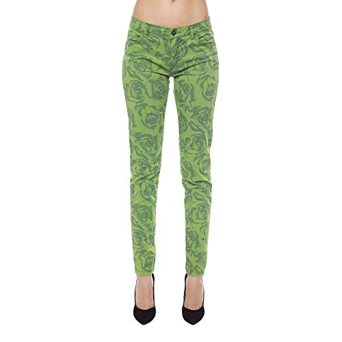 In Pantalon Trussardi Green Femme Italy Made Collection Verde Erqow 8Nnm0w