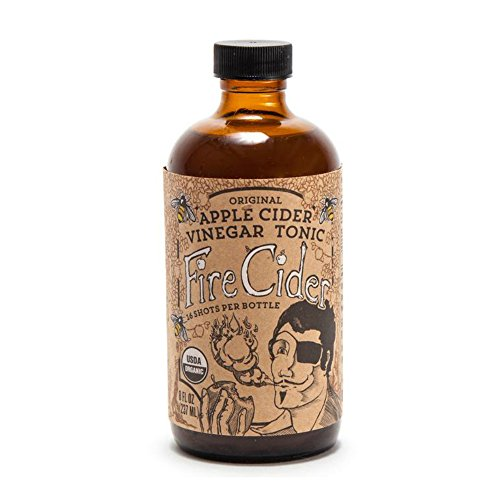 Herbal Cider Tonic (Fire Cider | Apple Cider Vinegar and Honey Tonic | Original | 8 oz)