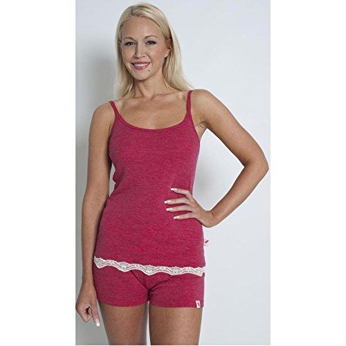 Trespass Womens/Ladies Sashay Soft Merino Wool Baselayer Set Raspberry