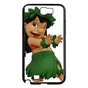 Disney Lilo & Stitch Character Lilo Pelekai Samsung Galaxy N2 7100 Cell Phone Case Black TPU Phone Case SY_824675