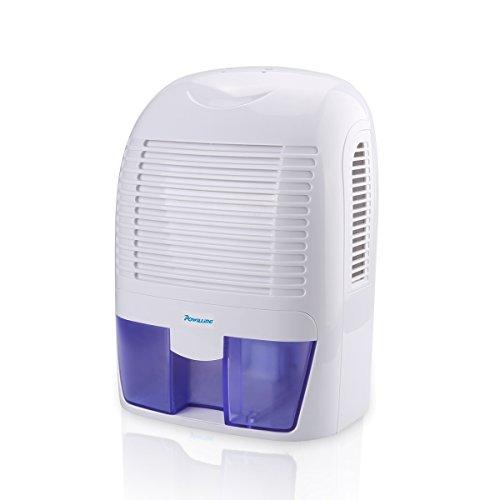 Powilling 1500ml Portable Quiet Dehumidifier For Home Basement Bedroom Bathroom Garage