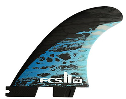 FCS II MB PC Carbon Thruster Surfboard Fins by FCS