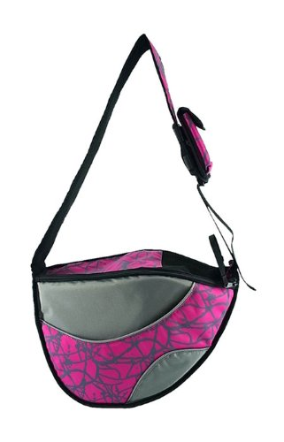 One for Pets The Messenger Pet Bag, Pink