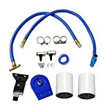 yjracing Blue Coolant Filtration Filter Kit with Filter # 24070 Fit for 2003-2007 Ford Powerstroke Diesel 6.0L
