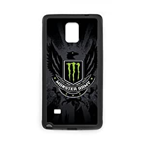 Samsung Galaxy Note 4 Phone Case for Monster Energy pattern design