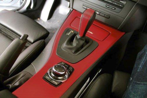 Red Carbon Fiber 60 Quot X 1ft Car Wrap Vinyl Roll With Air
