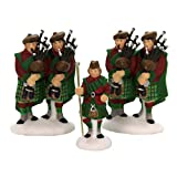 Dept 56 Accessories Ten Pipers' Piping Dickens' Village Bagpipes - Porcelain 2.50 IN