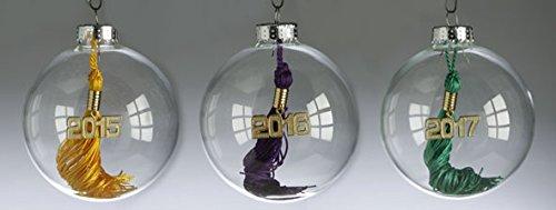 Tassel Depot Graduation Ornament with 2017 Tassel - Lilac
