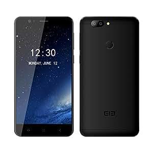 Smartphone Libre,Elephone P8 mini (2017)Smartphone Móvil Libre 4G Android 7.0 Teléfono Celular(4GB RAM + 64GB ROM, Dual Cámara 16 MP+13MP, MT6750T Octa-Core 1.5GHz, Pantalla FHD 5.0, Fingerprint GPS OTG - Negro