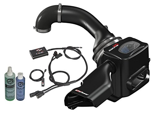 (aFe Power 77-46101-PK Scorcher HD 77-46101-P Performance Package for Nissan Titan)