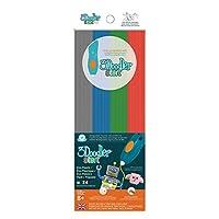 Paquete de recarga de plástico 3Doodler Start: Primary Pow! (Mezclado)