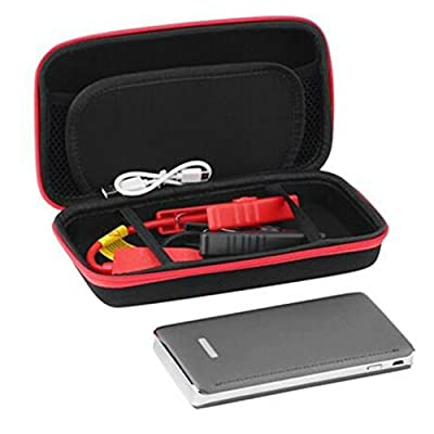 Baynne Large Capacity 30000mAh Portable LED Car Jump Starter Vehicle Engine Booster(Color silvery)