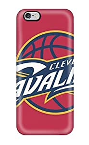 Hot Style GdvVaVb4908nifFX Protective Case Cover For Iphone6 Plus(cleveland Cavaliers Logo )(3D PC Soft Case)