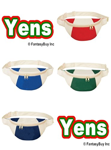 Yens Fantasybag Eco-Green Fanny Pack, FP-8511 (Red) For Sale