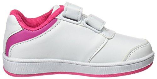 Starter Unisex Baby Lena Krabbel-& Hausschuhe, Blanco (Blanco / Rosa), 24 EU