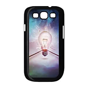 Customized Dual-Protective Case for Samsung Galaxy S3 I9300, Bulb Cover Case -R682620