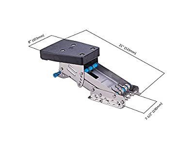 Outboard Motor Bracket - Stainless Steel 304 - up to 20HP (2 stroke motors) - Premium quality - Five Oceans BC3926