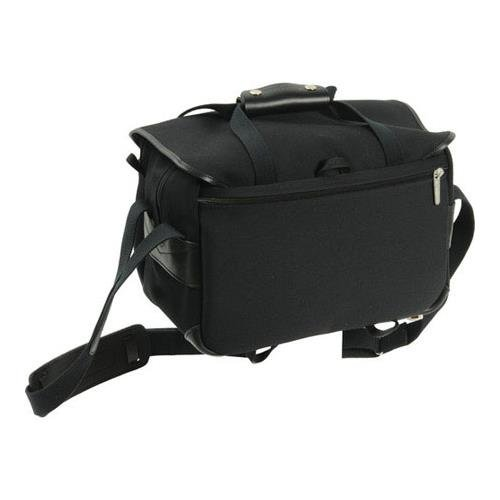 Billingham 335 Black Canvas Camera Bag with Black Leather Trim by Billingham (Image #2)