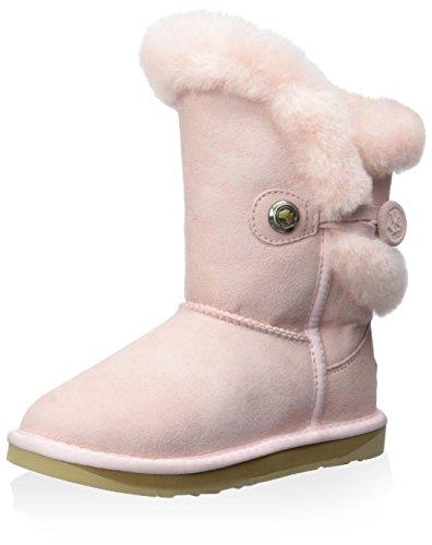 Australia Luxe Collective Kid's Nordic Short Boot, Baby Pink, 2 M US Little Kid - Nordic Kids Boots