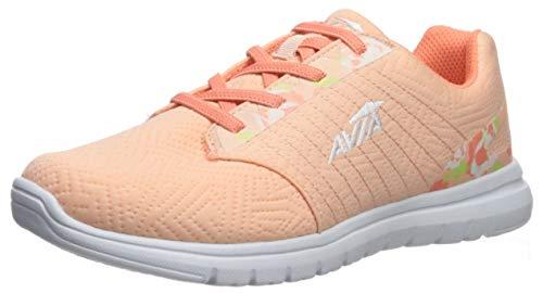 - Avia Women's Avi-Solstice Sneaker Peach Parfait/Fusion Coral/White/Sharp Green 6.5 Medium US