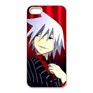 Soul Eater iphone 5 5S Cell Phone Case White Phone Accessories JV162267