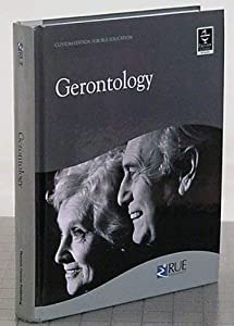 Hardcover Gerontology Custom Edition for Rue Education Book