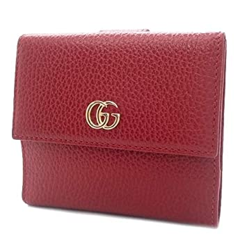 low priced cdc71 49a26 Amazon.co.jp: GUCCI(グッチ) プチマーモント レザー フレンチ ...