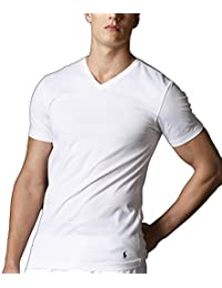 Polo Ralph Lauren Slim Fit V-Neck Undershirts 3-Pack