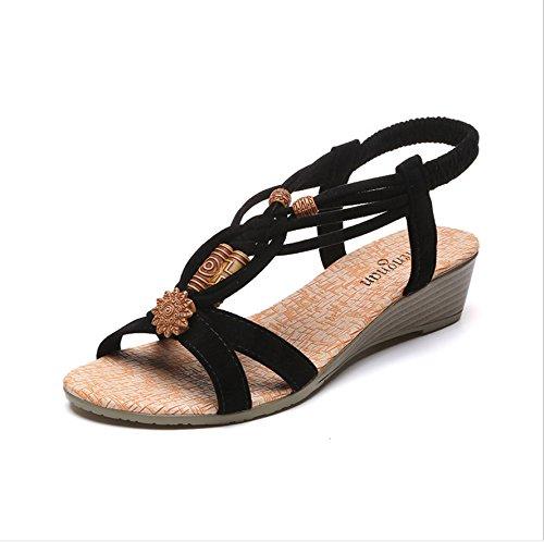 Thirty cómodos Donyyyy de zapatos zapatos six Cómodos plano mujer de de calzado fondo mujer cordones playa casual de qpaAqUwn7