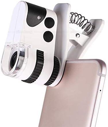 ZZWBOX Microscopio de teléfono móvil Lupa Mini microscopio Carga ...