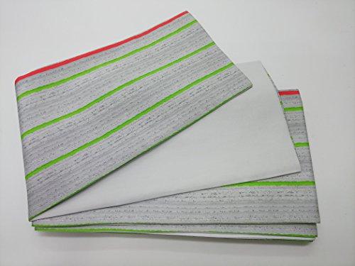 患者対話手紙を書く(ポリ)ケーブル柄 半幅帯