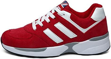 FYQ & derrape de mujeres casual sport zapatos transpirables y prácticos Zapatillas de running Zapatillas de deporte rojo rojo Talla:35: Amazon.es: Deportes y aire libre