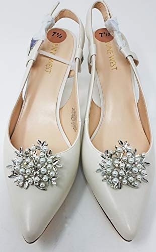 Silver Branch Rhinestone and Pearl Shoe Clips, Clips for Shoes, Shoe Accessories ()