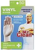 Mr. Clean Disposable Vinyl Gloves 243323 - 50 Count