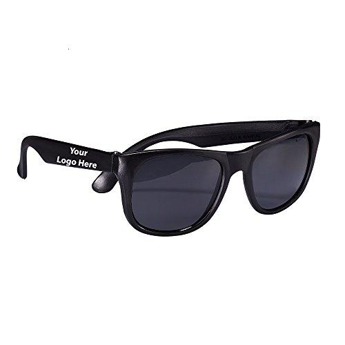 Matte Fashion Sunglasses - 150 Quantity - $1.25 Each - PROMOTIONAL PRODUCT / BULK / Branded with YOUR LOGO / - Customized Sunglasses Bulk