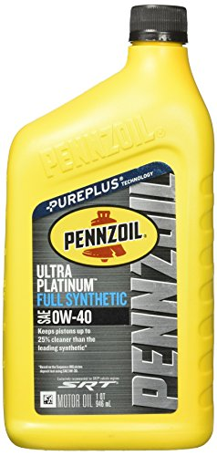 pennzoil 550040856 ultra platinum 0w 40 full synthetic