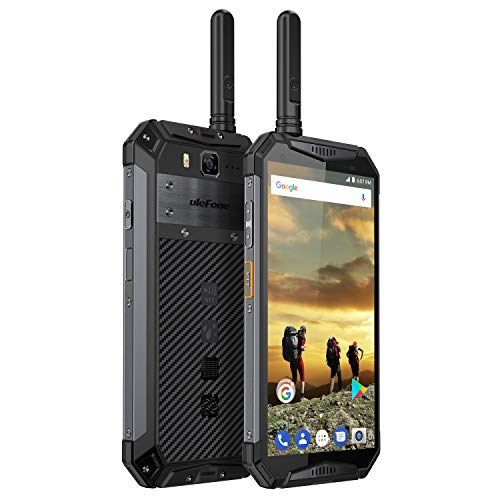 (Ulefone Armor 3T Rugged Cell Phones Unlocked, Walkie Talkie IP68 Waterproof Smartphone, 10300mAh Big Battery, 5.7