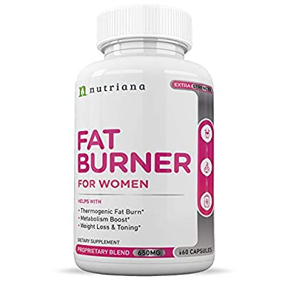 Best Fat Burners for Women and Weight Loss Pills for Women | Appetite Suppressant Diet Pills and Metabolism Booster with Garcinia Cambogia and Green Coffee Bean - 60 Capsules