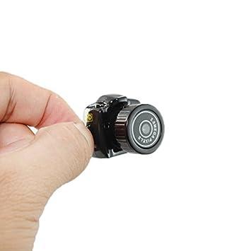 dizauL - Cámara réflex digital mini (HD 720P, SLR, Mini DV) negro ...